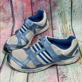 Adidas Shoes | Adidas Adiprene Velcro Running Shoes | Color: Blue/White | Size: 11