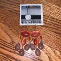 Anthropologie Jewelry | Anthropologie Chandelier Earrings New | Color: Gold/Orange | Size: Os