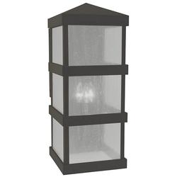 Arroyo Craftsman Barcelona Tall Outdoor Wall Sconce - BAW-10AE-BZ