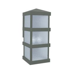 Arroyo Craftsman Barcelona Tall Outdoor Wall Sconce - BAW-8CLR-MB
