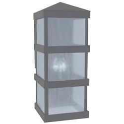Arroyo Craftsman Barcelona Tall Outdoor Wall Sconce - BAW-10CLR-S