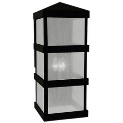 Arroyo Craftsman Barcelona Tall Outdoor Wall Sconce - BAW-10AE-BK