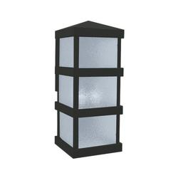 Arroyo Craftsman Barcelona Tall Outdoor Wall Sconce - BAW-8CLR-BK
