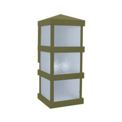 Arroyo Craftsman Barcelona Tall Outdoor Wall Sconce - BAW-8CLR-VP