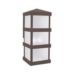Arroyo Craftsman Barcelona Tall Outdoor Wall Sconce - BAW-8WO-RB