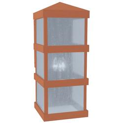 Arroyo Craftsman Barcelona Tall Outdoor Wall Sconce - BAW-10CLR-RC