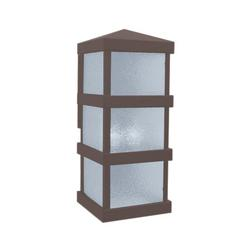 Arroyo Craftsman Barcelona Tall Outdoor Wall Sconce - BAW-8CLR-RB