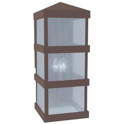 Arroyo Craftsman Barcelona Tall Outdoor Wall Sconce - BAW-10CLR-RB