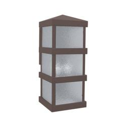 Arroyo Craftsman Barcelona Tall Outdoor Wall Sconce - BAW-8RM-RB