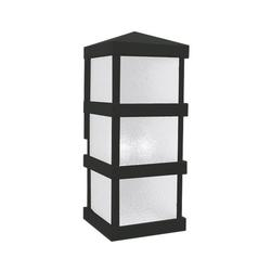 Arroyo Craftsman Barcelona Tall Outdoor Wall Sconce - BAW-8WO-BK