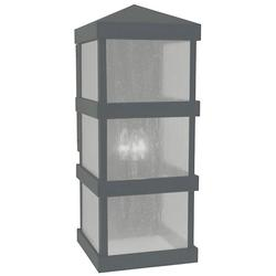 Arroyo Craftsman Barcelona Tall Outdoor Wall Sconce - BAW-10AE-MB