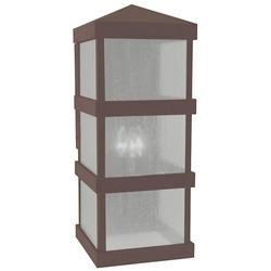 Arroyo Craftsman Barcelona Tall Outdoor Wall Sconce - BAW-10DD-RB