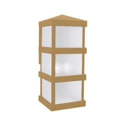 Arroyo Craftsman Barcelona Tall Outdoor Wall Sconce - BAW-8WO-AB
