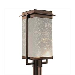 Justice Design Group Fusion Pacific LED Outdoor Post Light - FSN-7543W-SEED-DBRZ