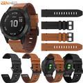 Bracelet en cuir 20mm pour Garmin Fenix 6S/6S Pro Smart bracelet de montre, bracelet de rechange à