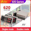 Mini Console de jeux vidéo rétro classique avec 500/620 jeux intégrés, 8 bits, compatible AV/HDMI