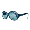 Kate Spade Accessories | Kate Spade Oversize Black Round Frame Sunglasses | Color: Black/Gray | Size: Os