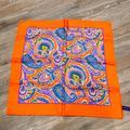 Ralph Lauren Accessories | Nwot Purple Label Ralph Lauren Pocket Square | Color: Purple/Red | Size: Os