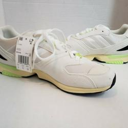 Adidas Shoes | Adidas Zx Torsion Casual Shoes White Yellow 11.5 | Color: White/Yellow | Size: 11.5