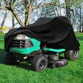 Konelia Lawn Mower Cover Polyester/Polyester blend in Black, Size 46.11 H x 72.0 W x 53.9 D in | Wayfair 04ODC0041ABK