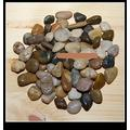 Size Small 40 Pounds Decorative Mixed Color Pebble Garden & Landscaping Stone Pool Garden Stone Clearance Garden Rocks Garden Pebbles Decorative Stones Garden Stones Decorative Glow Stones