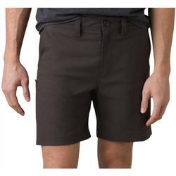 PRANA Mens Flat Front Extender Shorts