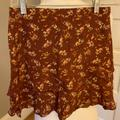 Urban Outfitters Skirts   Nwot Urban Outfitters Floral Miniskirt Size Xs   Color: Red   Size: Xs