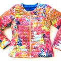 Lilly Pulitzer Jackets & Coats   Lilly Pulitzer Floral Reversible Puffer Jacket   Color: Blue   Size: M