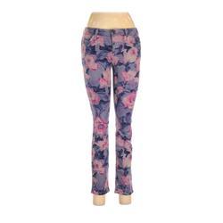 Joe's Jeans Jeans - Mid/Reg Rise: Purple Bottoms - Size 28