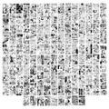 Haikyuu – affiches murales, Kit de Collage d'images esthétiques, panneaux de Manga, 144 pièces