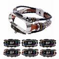 Dragonne Pour Xiaomi Mi Band 6 5 4 3 En Métal En Cuir Bracelets BRICOLAGE Bracelet Bracelets De