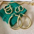 Small Gold Hoop Earrings, Thick Hoop Earrings, Chunky Hoops, 18k Gold Filled Hoops, Hypoallergenic Earrings, Oversized Hoop, Medium Hoops 1324847938