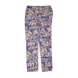 Justice Jeans Jeans - Mid/Reg Rise: Purple Bottoms - Size 14