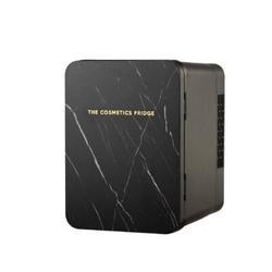 The Cosmetics Fridge 0.14 Cubic Feet cu. ft. Countertop Mini Fridge in Black, Size 9.75 H x 7.0 W x 8.75 D in   Wayfair BLKMARBLE