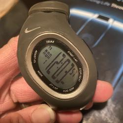 Nike Accessories   Nike Triax Sport Running Watch   Color: Gray   Size: Os