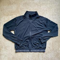Under Armour Jackets & Coats | Black Under Armour Collared Track Jacket | Color: Black | Size: S