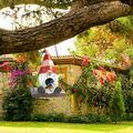 Garden Gnome Goblin Bird House, Artificial Statue Garden Bird House, DIY Resin Hummingbird House for Spring Summer Home Yard Garden Outdoor Decoration Birthday Gift for Family (S)