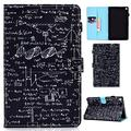Kindle Fire HD 8 Case,Tianlun PU Leather Multi-Angle Viewing with Wake/Sleep Smart Folio Case for Amazon Kindle Fire HD 8 Tablet (8th/7th/6th Generation, 2018/2017/2016 Release) (Equation)