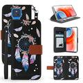 """BEYOND CELL Infolio Phone Case Compatible with Moto G Play 2021 (6.5""""), Leather Wallet Case with ID & Card Pockets, Wrist Strap, Landscape Viewing Function."""