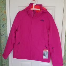 The North Face Jackets & Coats   Northface Moonstruck Action Sport Alpine Jacket   Color: Blue/Pink   Size: L