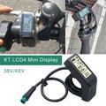 KT- LCD4 Electric Bicycle 24V 36V 48V intelligent black Control Panel LCD Display Screen Panel Meter