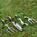 Râteau de jardinage manuel en acier inoxydable, jeu d'outils de jardinage, pelle à houe, outil de