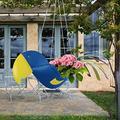 Reds Parrot Planter, Flying Parrot Planter Hanger Pot, The Shape of A Beautiful Bird, Parrot Planter Pot, Parrot Planter Hanger, Flower Pots Outdoor Indoor Garden Planters (Blue)