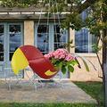 Flying Parrot Planter Hanger Pot, Reds Parrot Planter - The Shape of A Beautiful Bird, Parrot Planter Pot, Parrot Planter Hanger, Flower Pots Outdoor Indoor Garden Planters (RED)