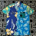 American Eagle Outfitters Shirts   American Eagle Mens Hawaiian Shirt Short Sleeve   Color: Blue   Size: S
