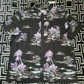 American Eagle Outfitters Shirts   American Eagle Mens Hawaiian Shirt Short Sleeve   Color: Black   Size: Xs