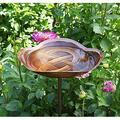 Birdbath, Antique Copper Bird bath Bird baths for outdoors Bird baths for outdoors clearance Solar bird bath fountains Gardening supplies Bird baths Lawn ornaments Bird bath bowl Portable bathtub