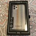 Coach Other   Nib Coach Brand Iphone 11 Pro Max Cell Case.   Color: Silver   Size: Os