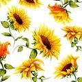 Sunflower Paper Napkins SUMMER MADNESS 40pcs 6.5x6.5 Paper LUNCH Napkins, Sunflower Napkins, Fall Napkins, Thanksgiving Paper Napkins, Decorative Napkins for Decoupage, Thanksgiving Lunch Napkins