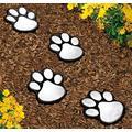 4 Solar Paw Print Lights Dog Path LED Cute Lawn Garden Patio Yard Decor Walkway -Solar Lights Garden Outdoor-Outdoor Garden Solar Lights-Path Lights Solar Powered-Patio Solar Lights Outdoor